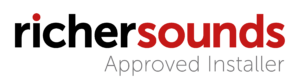 Richer Sounds Logo approved installer transparent
